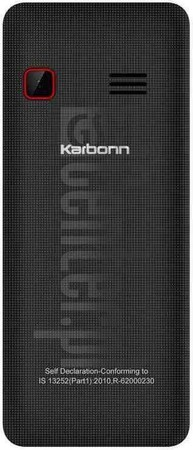 KARBONN K7 Rock image on imei.info