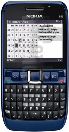 NOKIA E63 image on imei.info