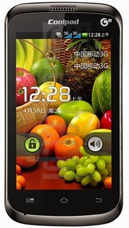CoolPAD 8076 image on imei.info