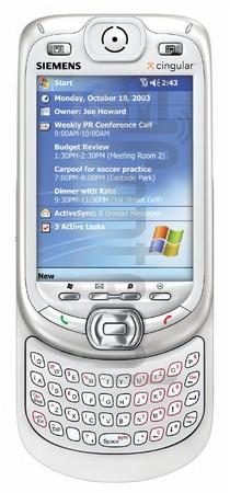 SIEMENS SX66 (HTC Blueangel) image on imei.info