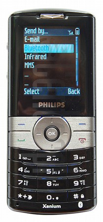 PHILIPS Xenium 9@9g image on imei.info