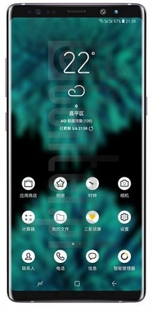 SAMSUNG Galaxy Note 9 image on imei.info