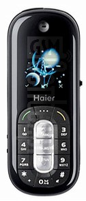 HAIER Black Pearl image on imei.info