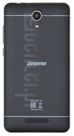 IMEI Check DIGMA Vox S507 4G on imei.info
