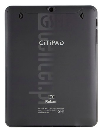 REKAM Citipad L810 3G image on imei.info