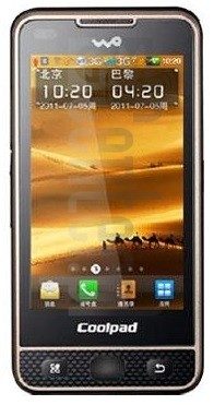 CoolPAD W770 image on imei.info