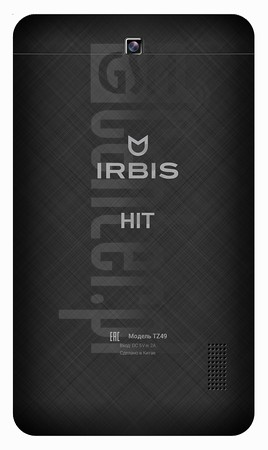 "IRBIS Hit 8GB 7"" image on imei.info"