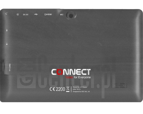 CONNECT A7 Classic image on imei.info