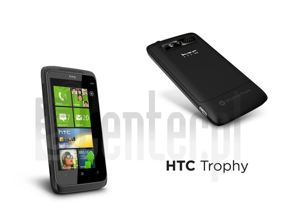 HTC Trophy image on imei.info