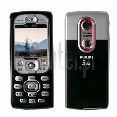 PHILIPS 535 image on imei.info