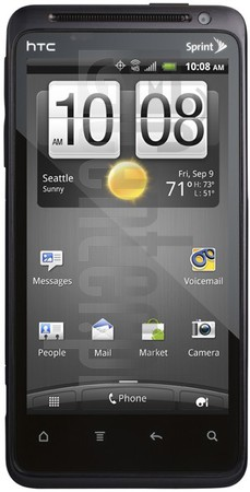 HTC EVO Design 4G image on imei.info