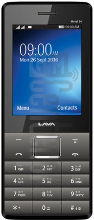LAVA Metal 24 image on imei.info