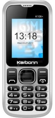 KARBONN K106 PLUS image on imei.info