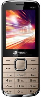 K-TOUCH M201 image on imei.info