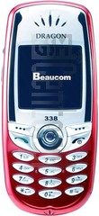 BEAUCOM S338 image on imei.info