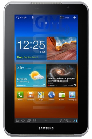 SAMSUNG P6201 Galaxy Tab 7.0 Plus N image on imei.info