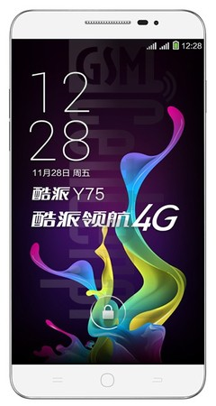 CoolPAD Y75 image on imei.info