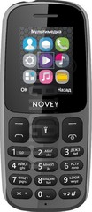 IMEI Check NOVEY 107 on imei.info