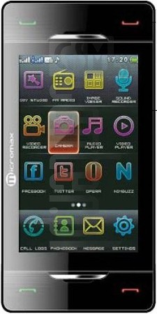 MICROMAX X600  image on imei.info