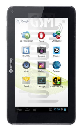 MEMUP SLIDEPAD 704CE image on imei.info