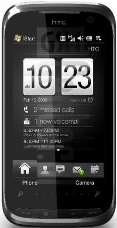 HTC Touch Pro2 (HTC Rhodium) T7373 image on imei.info