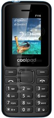 IMEI Check CoolPAD F116 on imei.info
