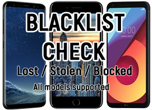 Phone Blacklist Checker - IMEI info