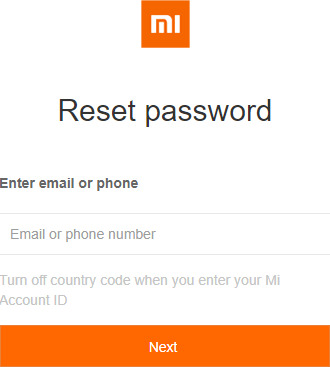 Remove Mi Cloud - IMEI info