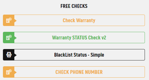 All avaliable free checks for Motorola