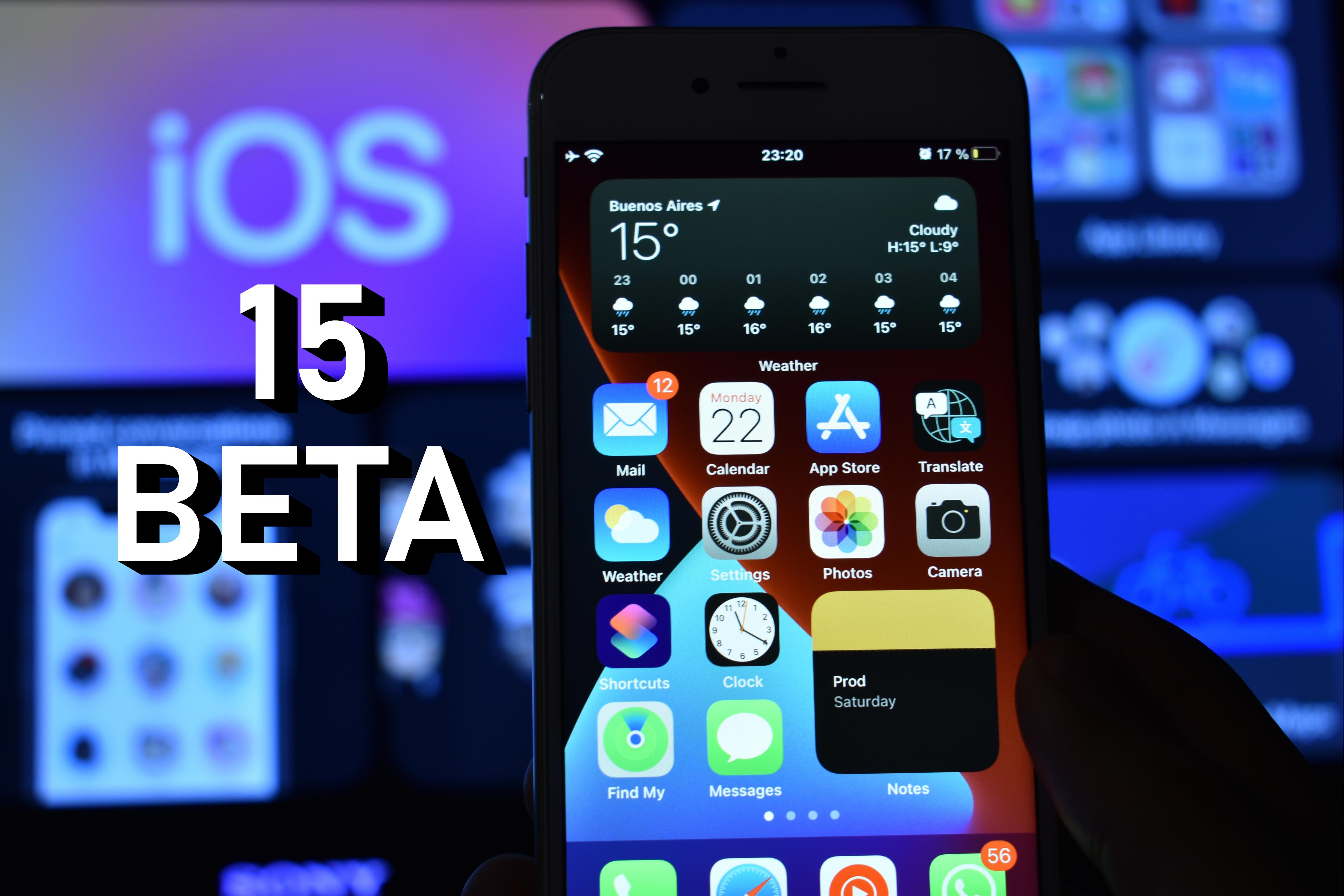 iOS 15 Beta - Herunterladen - Nachrichten - IMEI.info